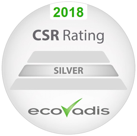 CSR Silver Rating