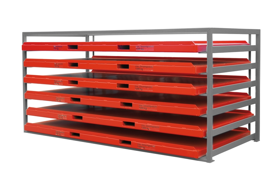 Sheet Metal Storage Units With Trays Bauer Gmbh