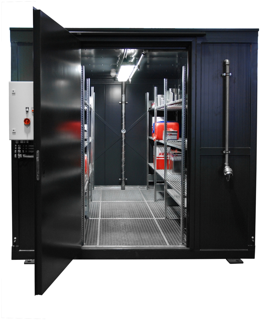 Fire Protection Containers - BAUER GmbH
