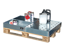 Spill Trays for Small Cans Type KGW-P