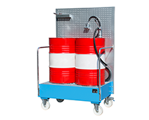 Mobile Sump Trays with Perforated Panel Type LPW