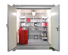 Walk-in Fireproof Containers Type RCB
