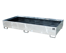 Shelf Sump with PE-Inlay Type RW PE